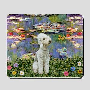 Lilies / Bedlington T Mousepad