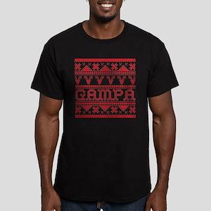 Christmas Ugly Xmas Sweater Gampa T-Shirt