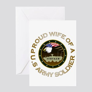 stryker wife Greeting Card