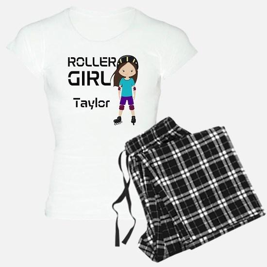 Rollergirl Brunette Pajamas