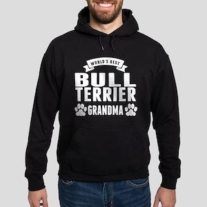 Worlds Best Bull Terrier Grandma Hoodie