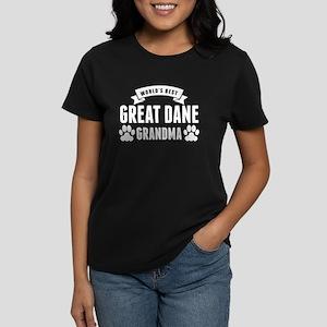 Worlds Best Great Dane Grandma T-Shirt