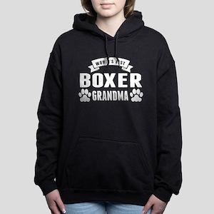 Worlds Best Boxer Grandma Women's Hooded Sweatshir