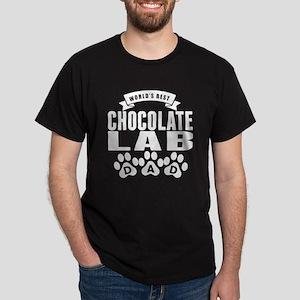 Worlds Best Chocolate Lab Dad T-Shirt