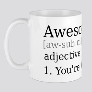 Awesome by Definition Mug