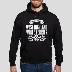 Worlds Best West Highland White Terrier Mom Hoodie
