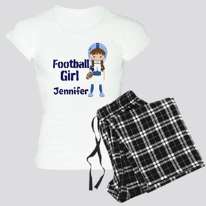 Football Custom Women's Light Pajamas