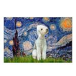 Starry / Bedlington Postcards (Package of 8)