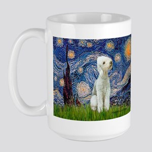 Starry / Bedlington Large Mug
