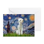 Starry / Bedlington Greeting Cards (Pk of 20)