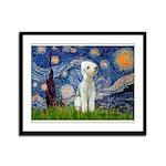 Starry / Bedlington Framed Panel Print