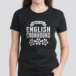 Worlds Best English Coonhound Mom T-Shirt