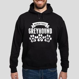Worlds Best Greyhound Mom Hoodie