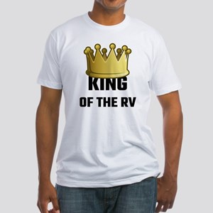 King Of The RV Fitted T-Shirt