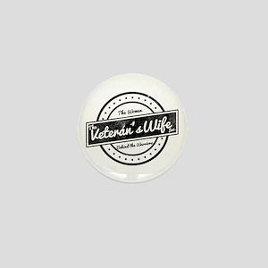 The Veteran's Wife Logo Mini Button