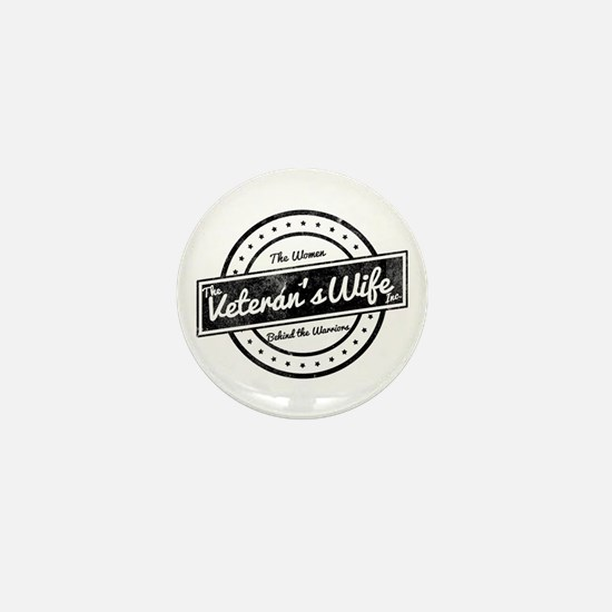 The Veteran's Wife Logo Mini Button