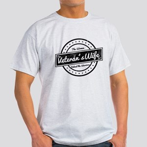 The Veteran's Wife Logo Light T-Shirt
