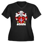 Narvarrete Family Crest Women's Plus Size V-Neck D