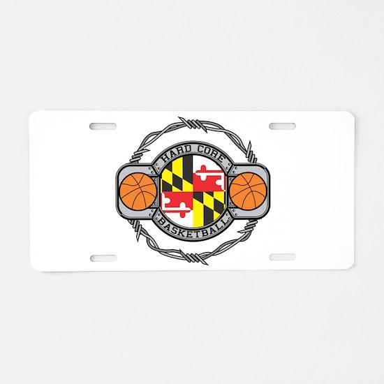 Maryland Basketball Aluminum License Plate