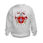 Narvarrete Family Crest Kids Sweatshirt