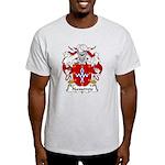 Narvarrete Family Crest Light T-Shirt