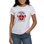 Narvarrete Family Crest Women's T-Shirt