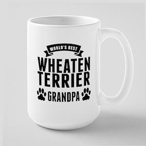 Worlds Best Wheaten Terrier Grandpa Mugs