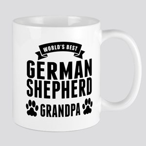 Worlds Best German Shepherd Grandpa Mugs