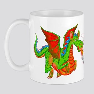 Help with Dinner Dragon Mug