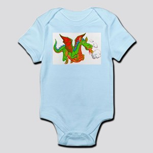 Help with Dinner Dragon Infant Bodysuit