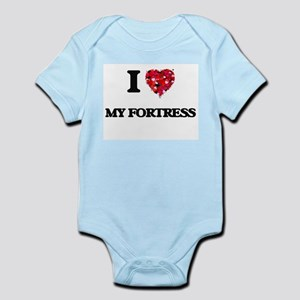 I Love My Fortress Body Suit