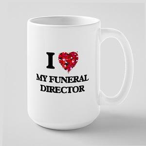 I Love My Funeral Director Mugs