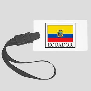 Ecuador Large Luggage Tag