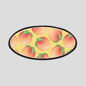 Cute Peach Pattern Patch