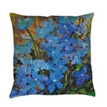 Delphinium Everyday Pillow