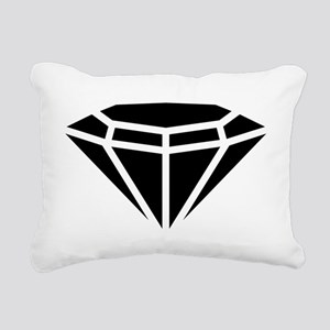Diamond Rectangular Canvas Pillow