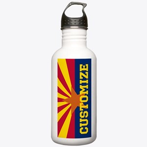 Personalized State Flag of Arizona Water Bottle