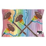 Rainbow Spindles Pillow Case