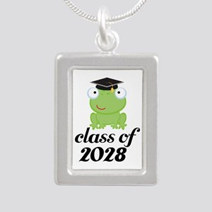 Class Of 2028 frog Necklaces