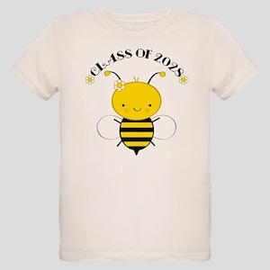 Class Of 2028 bee Organic Kids T-Shirt