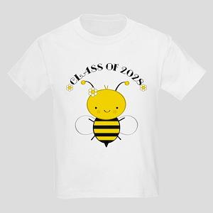 Class Of 2028 bee Kids Light T-Shirt