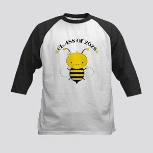 Class Of 2028 bee Kids Baseball Jersey