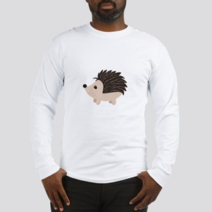 Cartoon Porcupine Long Sleeve T-Shirt