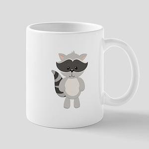 Cartoon Raccoon Mugs