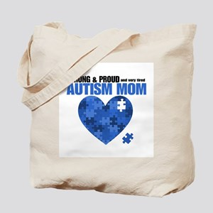 Autism Mom SP Tote Bag