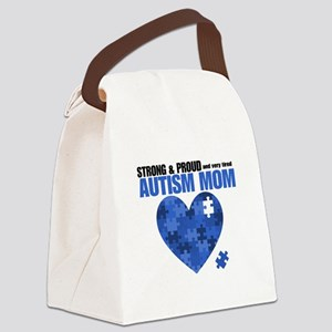 Autism Mom SP Canvas Lunch Bag
