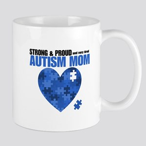 Autism Mom SP Mugs