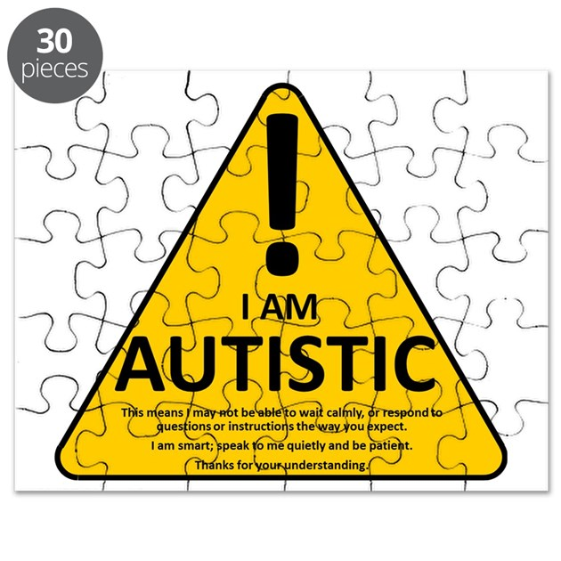 Autism Triad Puzzle By Listing Store 25390536