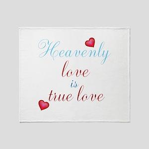 Heavenly Love Throw Blanket