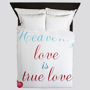 Heavenly Love Queen Duvet